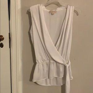 Michael kors white blouse